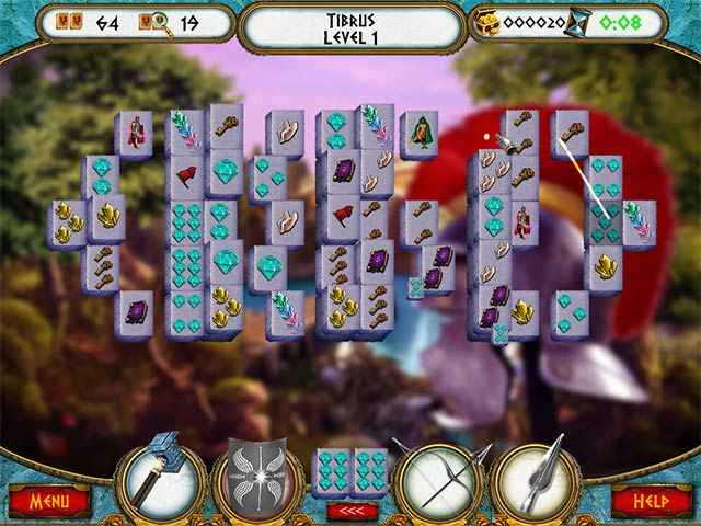 7 Hills of Rome Mahjong Screen 1