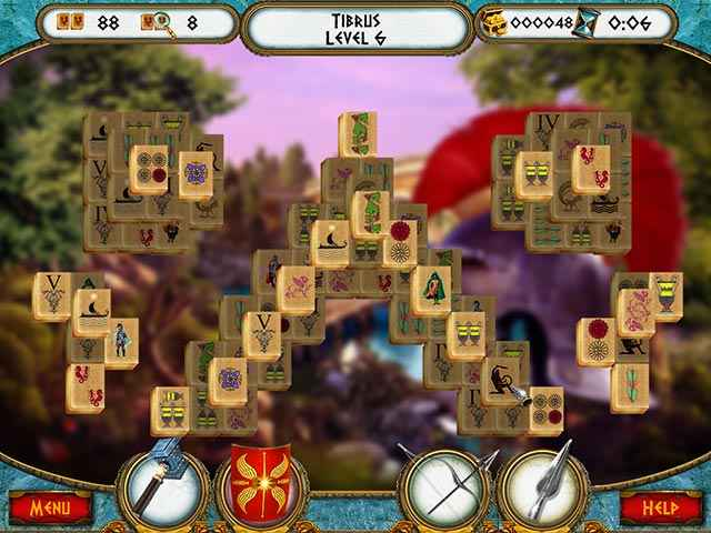 7 Hills of Rome Mahjong Screen 2