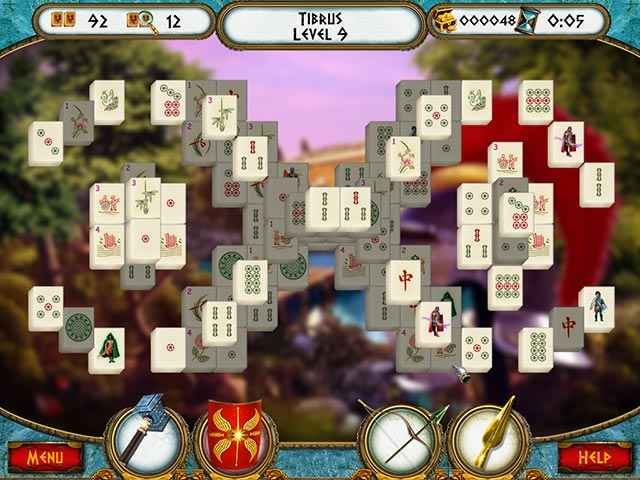 7 Hills of Rome Mahjong Screen 3