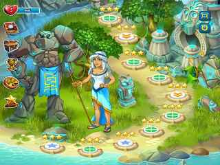 Atlantis Adventure Screen 2