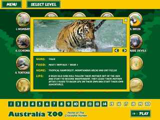 Australia Zoo Quest Screen 2