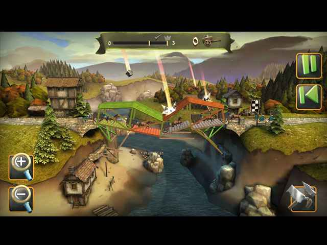 BRIDGE CONSTRUCTOR: Medieval Screen 2
