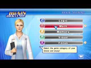 Brain Challenge Screen 2