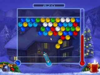 Bubble Xmas Screen 1