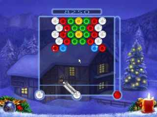 Bubble Xmas Screen 2