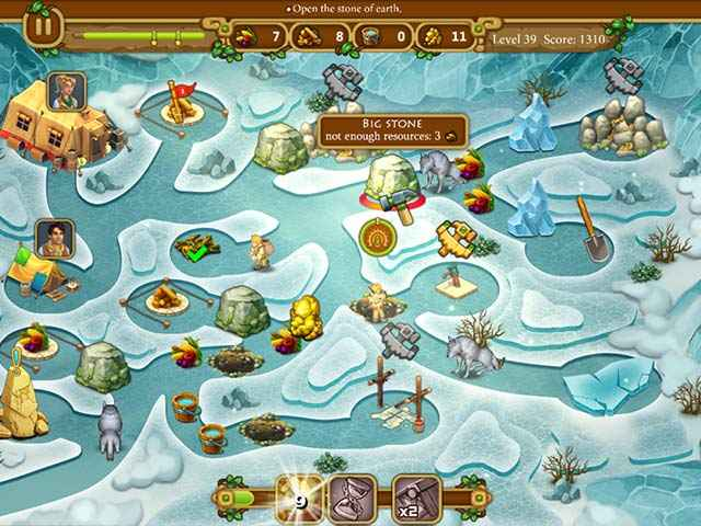 Chase for Adventure: The Lost City Screen 2