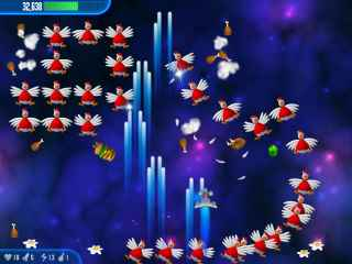 Chicken Invaders 3 Christmas Edition Screen 2