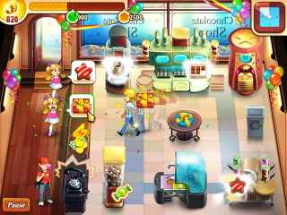 Chocolate Shop Frenzy Screen 1