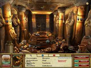 Curse of the Pharaoh: Tears of Sekhmet Screen 2
