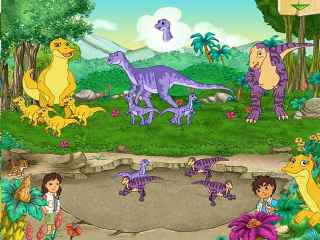 Diego Dinosaur Rescue Screen 1