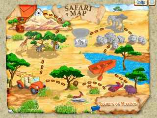 Diego`s Safari Adventure Screen 1