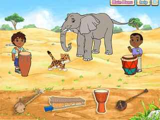 Diego`s Safari Adventure Screen 2