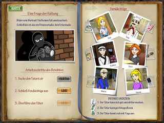 DinerTown Detective Agency ScreenShot