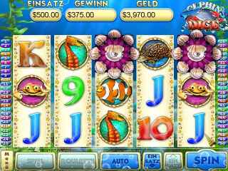 Dolphin Dice Slots Screen 1