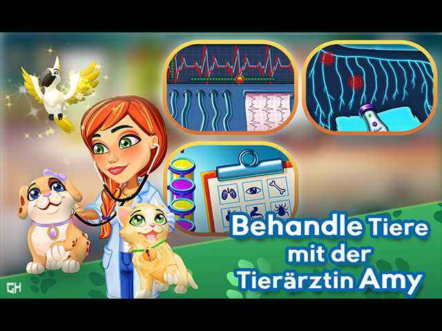 Dr. Cares: Amy's Pet Clinic Édition Collector Image 1