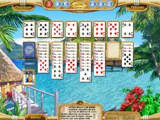 Dream Vacation Solitaire Screen 1