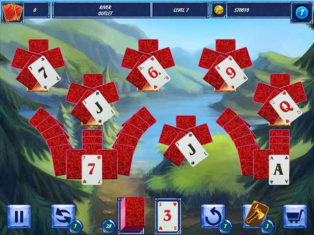 Fairytale Solitaire: Red Riding Hood Screen 2