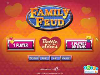 Family Feud: Battle of the Sexes Screen 1