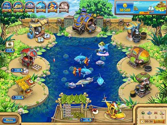 Free Download Farm Frenzy Gone Fishing Game Or Get Full Unlimited