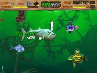 Feeding Frenzy 2 Shipwreck Showdown Screen 1