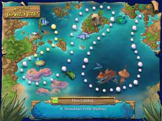 Feeding Frenzy 2 Shipwreck Showdown Screen 2