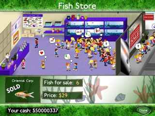 Fish Tycoon Screen 2