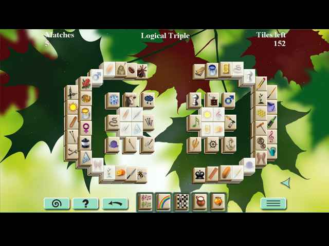 Forest Mahjong Screen 2