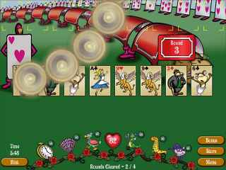 FreeCell Wonderland Screen 1