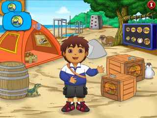 Go Diego Go Ultimate Rescue League Screen 1