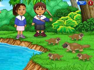 Go Diego Go Ultimate Rescue League Screen 2