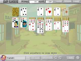 Great Escapes Solitaire Collection Screen 1