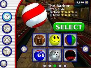 Gutterball Golden Pin Bowling ScreenShot