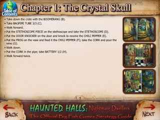 Haunted Halls: Nightmare Dwellers Strategy Guide Screen 1