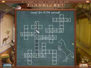 Hidden Object Crosswords Bild 2