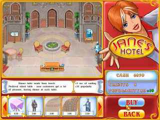 Jane's Hotel: Family Hero Screen 2