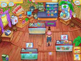 Jenny's Fish Shop Screen 1