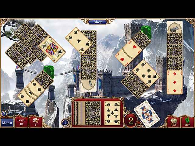 Jewel Match Solitaire 2 Screen 1