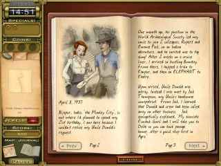 Jewel Quest Mysteries: Trail of the Midnight Heart Screen 2