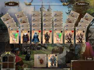 Legends of Solitaire: Curse of the Dragons Screen 1
