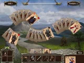 Legends of Solitaire: Curse of the Dragons Screen 2