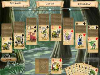 Legends of Solitaire: The Lost Cards Screen 1