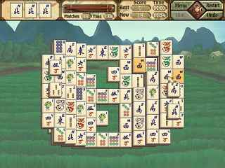 Mah Jong Quest III: Balance of Life Screen 1
