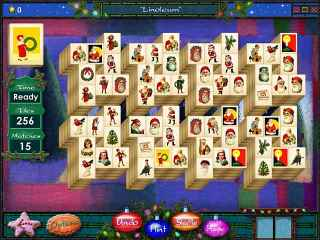 Mahjong Holidays 2006 Screen 1