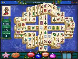 Mahjong Holidays 2006 Screen 2