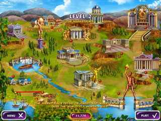 Mahjong Mysteries: Ancient Athena Screen 2