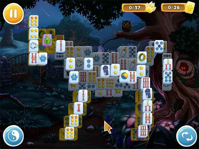 Mahjong: Wolf's Stories Screen 1