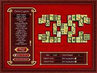 Mahjong World Screen 2