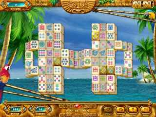 Mahjongg Ancient Mayas ScreenShot