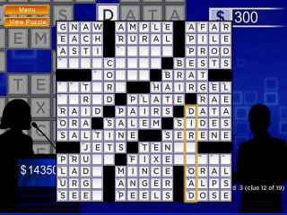 Merv Griffin's Crosswords Screen 2