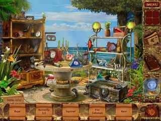 Mysteries of Magic Island Screen 1